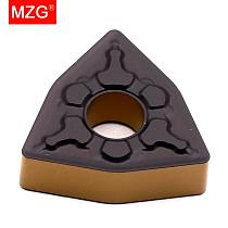 MZG WNMG 0804 08 04 TM ZC32 Steel Turning Boring Cutting CNC Lathe Machining Toolholders Solid Cement CVD Coated Carbide Inserts