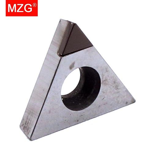MZG 1PCS TPGW080202 TPGW080204 CBN CNC Cutting Lathe Hard Material Processing Boring Turning STFP Tools Triangle Carbide Inserts