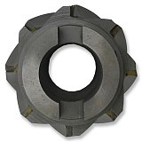 MZG SWET Type Face Milling Cutters Spiral groove welding blade type tungsten steel cylindrical plane side milling cutter