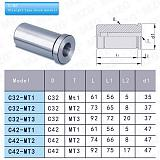 Tapping Collet & Toolholder