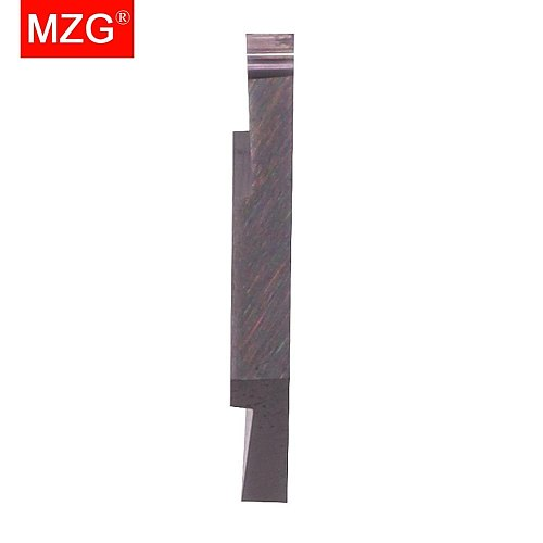 MZG 10pcs CTP CTPA FLN ZM680 Small Parts CNC Stainless Steel Machining Grooving Cutting-off Toolholders Solid Carbide Inserts