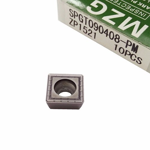 MZG SPMG050204 ZP1520 Abandon SP CNC Lathe Machining Type Fast Drill Solid Carbide Inserts for Stainless Steel Processing