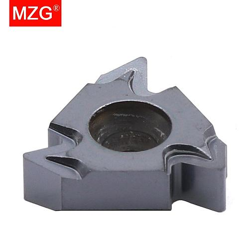 MZG 22ERMN55 ZM860 Indexable Tungsten Cement Carbide Screw Thread Inserts for CNC External Threading Toolholders for Steel