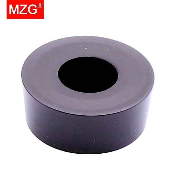 MZG 10pcs RCMX 0803 1003 1204 ZC2512 Metal Cutter CNC Lathe Steel Turning Toolholder Cutting Machining Tungsten Carbide Inserts