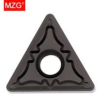 MZG 10PCS TNMG 1604 2204 08 PM ZC251 CNC Lathe Tool Solid Indexable Machining Hard Steel Tungsten Turning Carbide Inserts