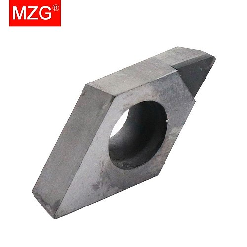 MZG 1PCS  DCGT 0702 11T3 PCD CNC Cutting Aluminum Copper Processing Boring Turning Diamond Insert for SDUC Holder