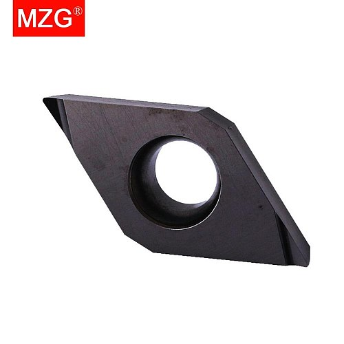 MZG DCGT070201 DCGT070202 R-F ZM680 CNC Cutting Tools Boring Turning Toolholder Carbide Inserts for Stainless Steel Processing