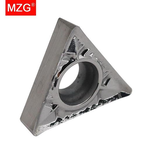MZG Discount Price TCGT090202-AL ZK01 Processing Copper And Aluminum Medium Finish Machining Tungsten Carbide Inserts