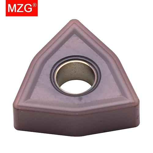 MZG Discount Price WNMG080404-MS ZM30 Machining Stainless Steel Processing Finish CNC Carbide Inserts