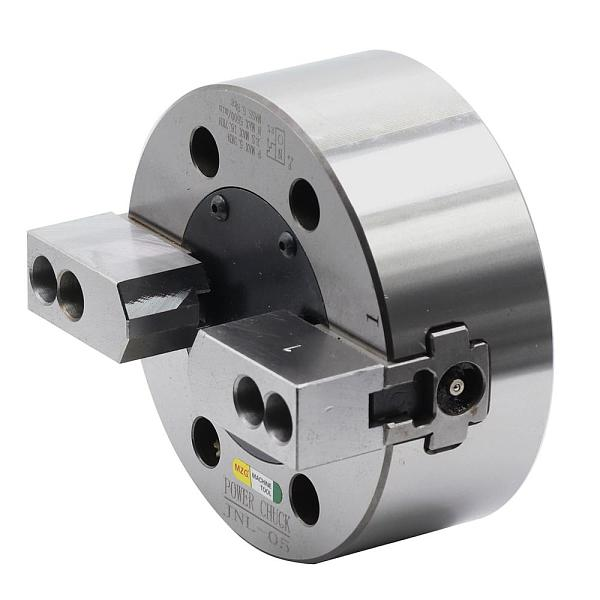 MZG 6 8 inch JNL-06 2-Jaw Solid Power Chuck for CNC Lathe Carrier Machining