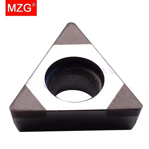 MZG 1  PCS TPGH110308 3T CBN CNC Cutting Lathe Hard Material Processing Boring Turning STFP Tools Triangle Carbide Inserts