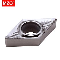 MZG Discount Price DCGT070202-AL ZK01 Copper And Aluminum Medium Finish Machining CNC Carbide Inserts