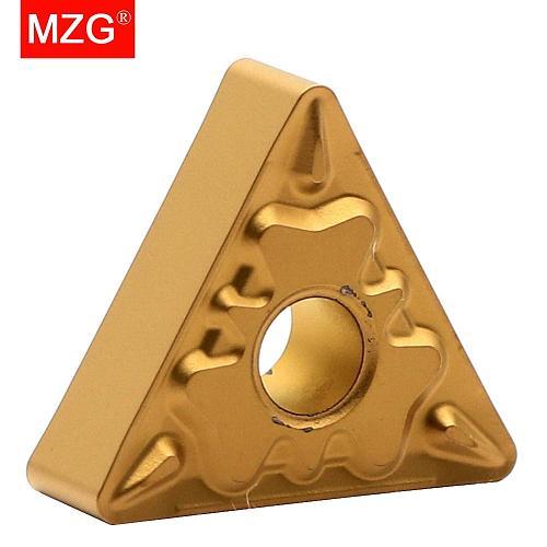 MZG Discount Price TNMG160404-HQ ZC25 CNC Turning Cutter Medium Finish Machining of Steel Tungsten Carbide Inserts