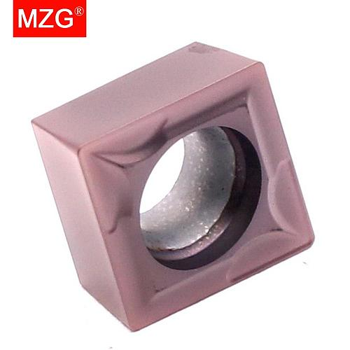 MZG 10pcs CCMT 09T304 09T308 ZP152Cutting Carbide Cermet Insert for Stainless Steel Turning Boring Processing SCLC Toolholder