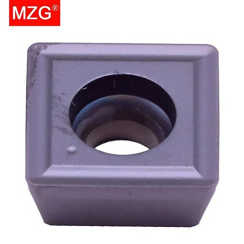 MZG Discount Price SPMG050204 ZP25 Drilling Processing of General Material CNC Tungsten Carbide Inserts