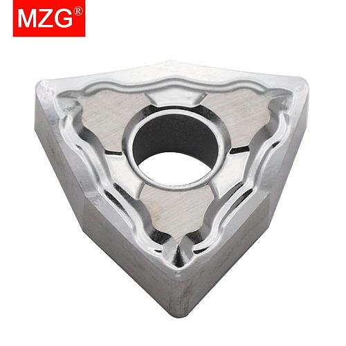 MZG Discount Price WNMG080404-HA ZK01 Processing Copper And Aluminum Medium Finish Machining CNC Carbide Inserts