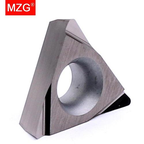 MZG Discount Price TPGH080202L ZN90 Cermet Medium And Fine Steel Parts Have Good Finish CNC Turning Carbide Inserts