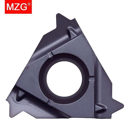 MZG BSPT 16IR11 16IR14 ZM860 Internal Stainless Steel Threading Tools Indexable Cement Tungsten Carbide Screw Thread Inserts