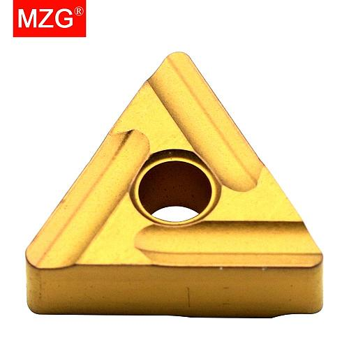 MZG Discount Price TNMG160404L-S ZC25 CNC Cutter Rough Processing of Steel  Turning Tungsten Carbide Inserts