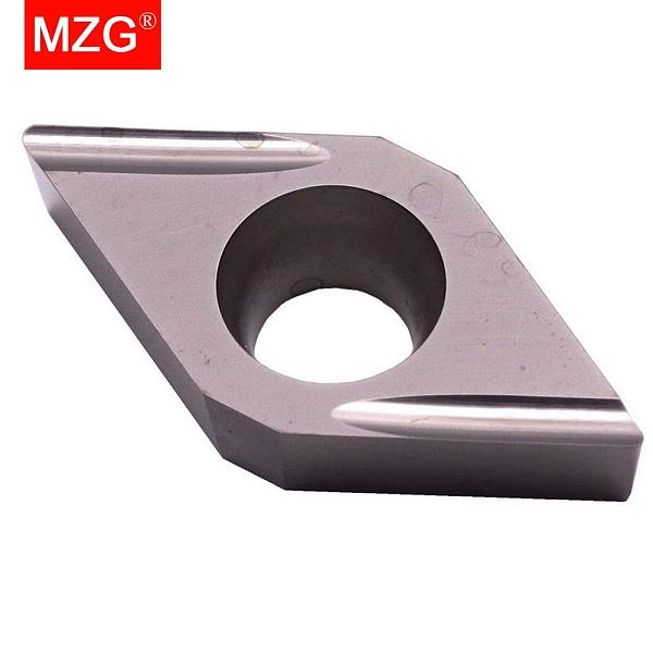 MZG Discount Price DCGT11T302FL-U ZN90 Turning Cutter Cermet Fine Steel Parts Have Good Finish Tungsten Carbide Inserts