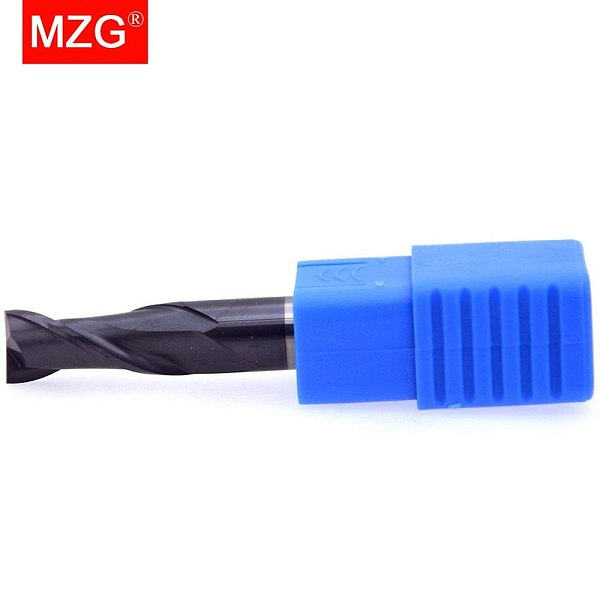 MZG 2 Flute Lengthen End Mill 75L Cutting HRC55 2mm 4mm Machining Milling Tungsten Steel Sprial Bit Milling Cutter