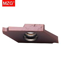 MZG 10PCS CTP  FRN ZP15  CNC Machining Toolholder Small Parts Cutting-off Grooving Stainless Steel Solid Carbide Inserts