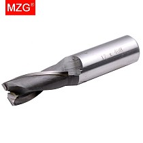 MZG SWE2 16mm 25mm HRC50 Cutting 2 edge over the center of spiral groove type tungsten steel cutter blade welding Flat End Mills