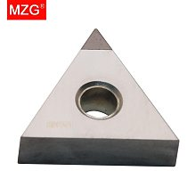 MZG 1 PCS TNMG160404 CBN CNC Cutting Lathe Hard Material Processing Boring Turning WTJN MTJN Tools Triangle Carbide Inserts