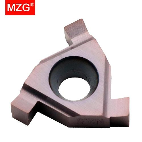 MZG T11N050 T11N080 ZM856 Stainless Steel Shallow Grooving Cutter CNC Lathe Cutting Groove Tools Indexable Solid Carbide Inserts