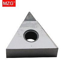 MZG Discount Price TNGA160404 PCD CNC Cutting Turning Boring Carbide Cermet Inserts for Aluminum Copper Non-Ferrous Tool Holder