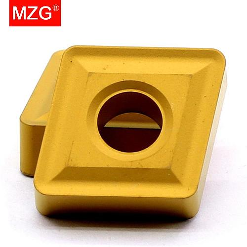 MZG CNMG 190612 190608 ZC2502 CNC Lathe Cutting  Boring Turning Carbide Inserts for Steel Processing MCLN MCKN Toolholders