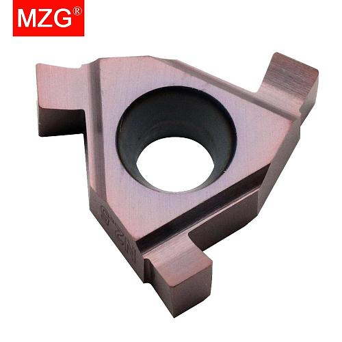 MZG T11N130 T11N150 ZM856 Stainless Steel Shallow Grooving Cutter CNC Lathe Cutting Groove Tools Indexable Solid Carbide Inserts
