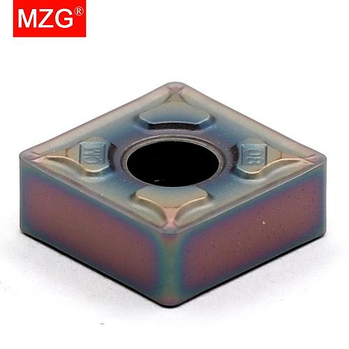 MZG 10pcs SNMG 120408 ZP1530 Turning CNC High Harendess Steel Titanium Alloy Machining Cutting Tools Tungsten Carbide Inserts