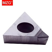 MZG 1PCS TPGW 090202 TPGT 110302 PCD CNC Cutting Turning Boring Carbide Inserts for Aluminum Copper Non-Ferrous Toolholder