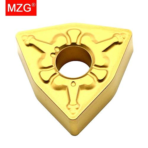 MZG Discount Price WNMG080404-TM ZC25 Cutters Medium Finish Machining of Steel Processing CNC Carbide Inserts