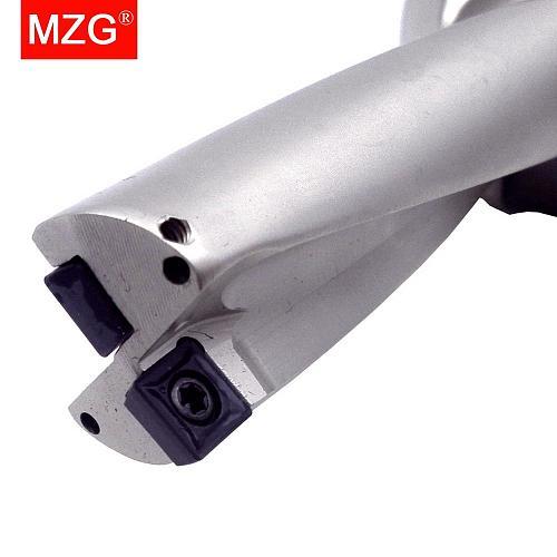 MZG D4 SP Carbide Inserts 18mm 20mm 21mm U Bits Drilling Hole Machining Center Abandon Metal Drilling Tools U Fast Drills