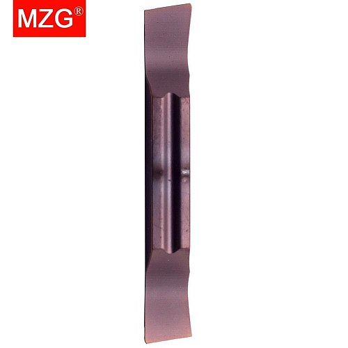 MZG MGGN200-R-8 ZP15 Taper Machining Tool Indexable Stainless Steel Cut-Off Processing CNC Tungsten Carbide Inserts