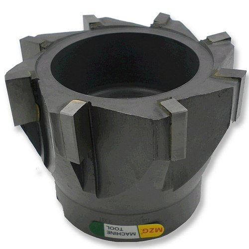 MZG SWFT Type Face Milling Cutters Spiral groove welding blade type tungsten steel cylindrical plane side milling cutter