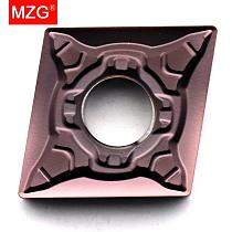MZG CNMG120404 MSF ZP1521 Boring Turning CNC Cutting Tools Tungsten Carbide Inserts for Stainless Steel Processing Toolholders