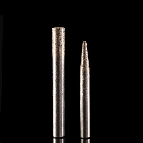 6mm/8mm shank stone engraving bits Sintered stone carving tools diamond router bits CNC milling cutter