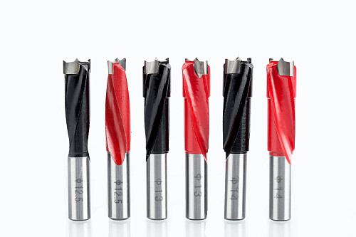 1pc 10-18mm wood drill bit 70mm length router bit row drilling for boring machine Gang drills for wood Carbide endmill