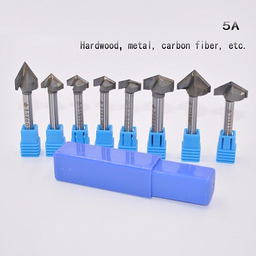 Freeshipping,CNC Solid Carbide Milling Cutter,Class-5A 3D V bit,woodworking tool,MDF,acrylic,Iron / aluminum