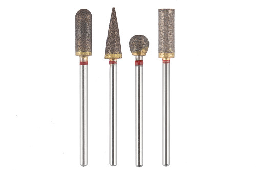 1pc shank 320 mesh Emery grinding head For Dremel rotary tools for Cleaning pipes Grinding Dremel accessories
