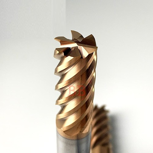 6 Flutes Carbide End Mill Metal Steel Milling Cutter CNC Finish Machining Router