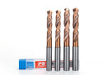 1pc Twist Drill Bit HRC65 1.0-9.0mm Solid Carbide drill bits for metal brocas para metal foret metaux Hard Metal Drilling