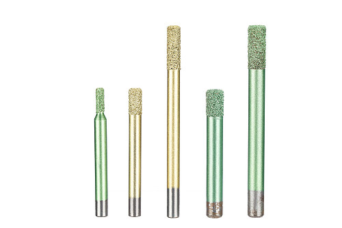 1PC Brazing CNC Stone Carving Stone Carving Tools Embossed Lettering Granite Diamond Engraving Machine Tool 4-12mm