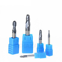 Milling Cutter Hrc50 Ball Nose Alloy Tungsten Steel Tools Cnc Maching SHAZAM Wholesale Top Machine Cutters For Steel Woodworking
