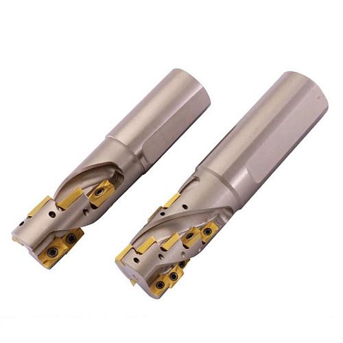 APMT1135 1604 inserts cutter  Rough cutter 20mm 25mm 32mm 40mm 50mm corn milling cutter rough milling Shell mill for roughing