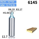 1pcs 1/2  1/4  Shank cove box bit Round Shank Router Bits for wood Industrial Grade Woodworking endmill miiling cutter