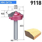 1pc Carving Bit Wood Cutter Double Edging Router Bits For Wood Industrial Grade Woodworking Engraving Chamfer Trimming Bit